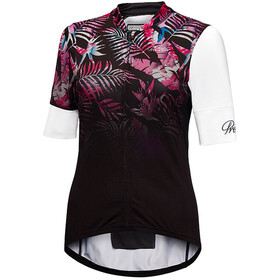 Protective HP Tropical Mask Bike Jersey Shortsleeve Women white/black